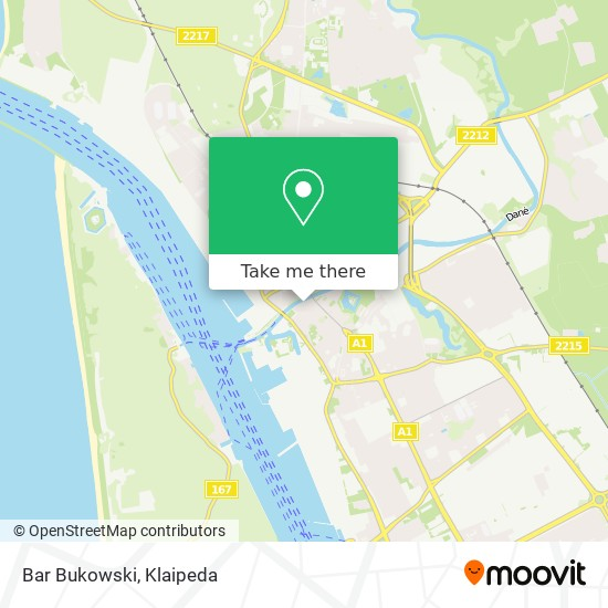 Bar Bukowski map