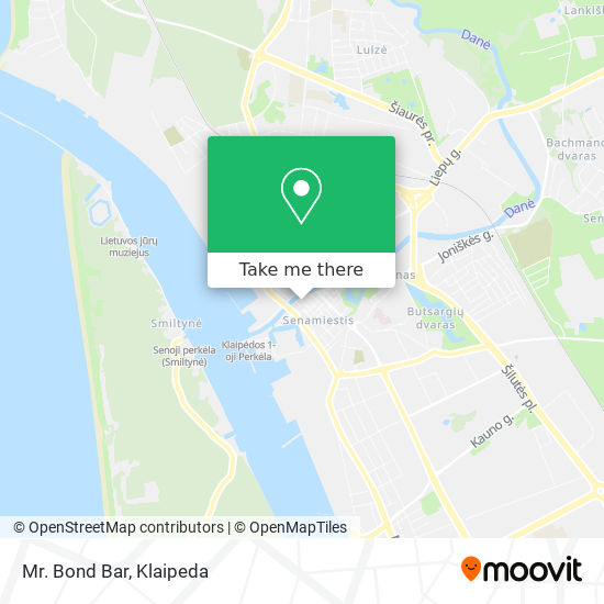 Mr. Bond Bar map
