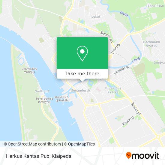 Herkus Kantas Pub map