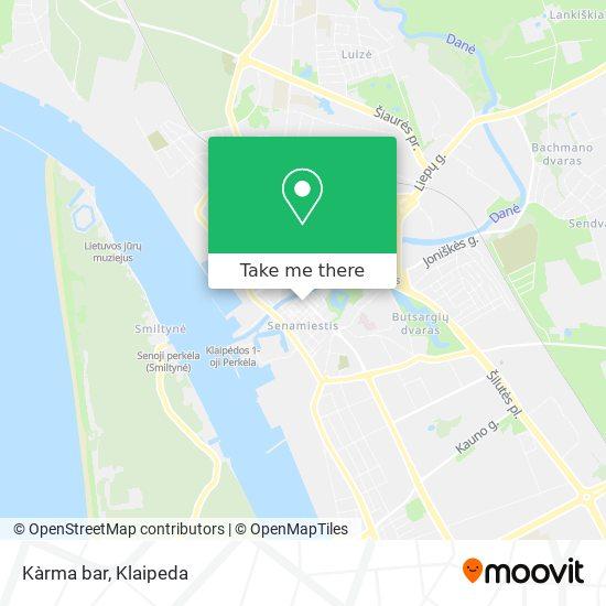 Kàrma bar map