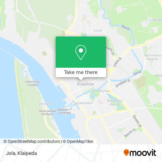 Jola map