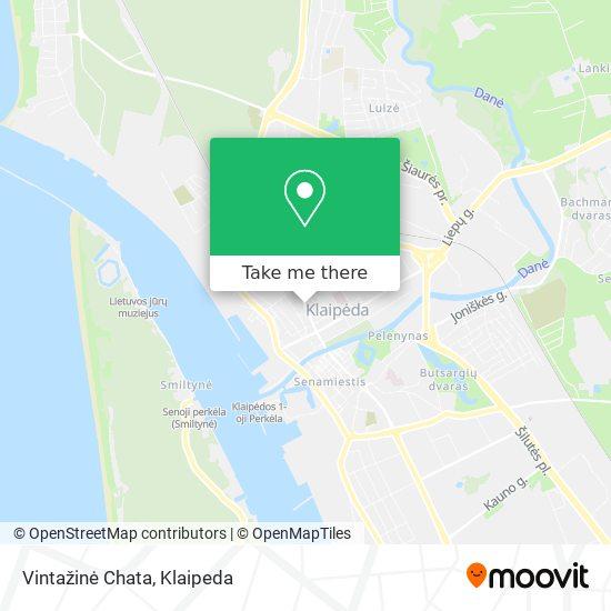 Vintažinė Chata map