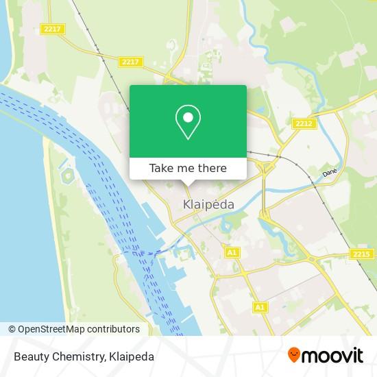 Beauty Chemistry map