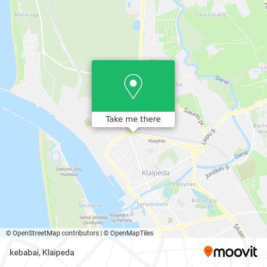 kebabai map