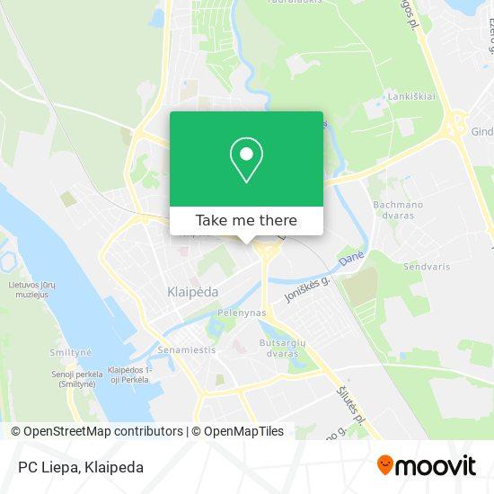 PC Liepa map
