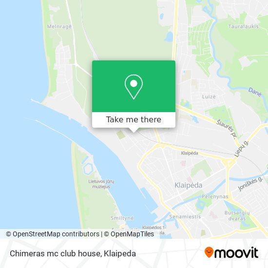 Chimeras mc club house map