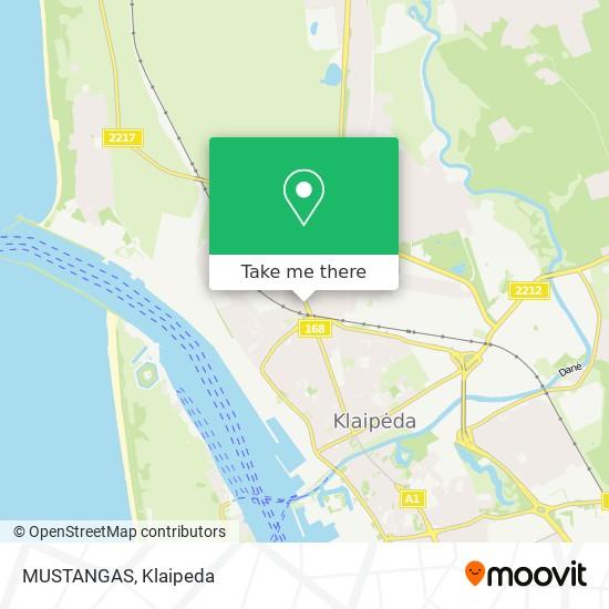 MUSTANGAS map