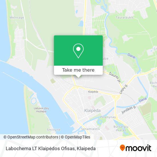 Labochema LT Klaipėdos Ofisas map