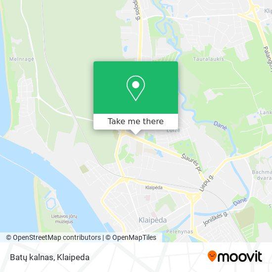 Batų kalnas map