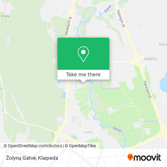 Žolynų Gatvė map