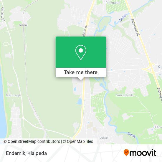 Endemik map