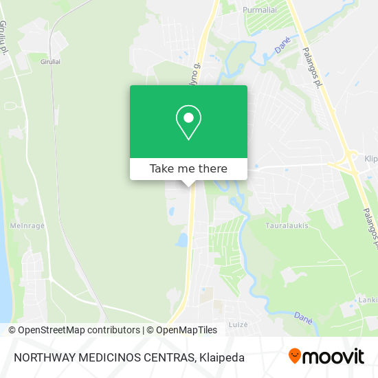 NORTHWAY MEDICINOS CENTRAS map