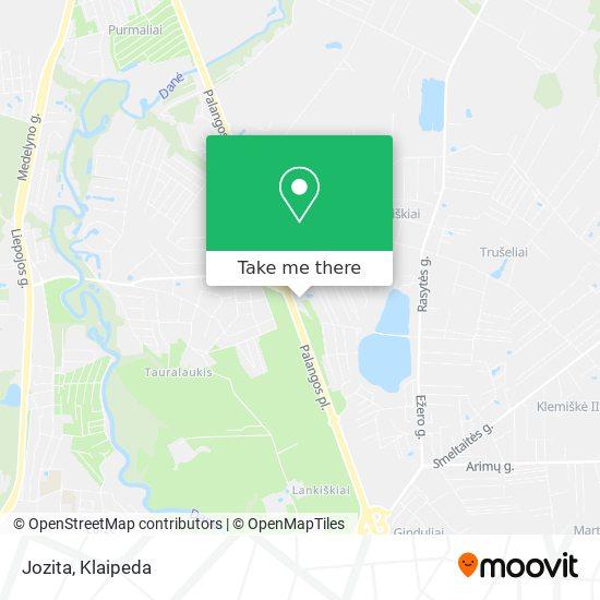 Jozita map