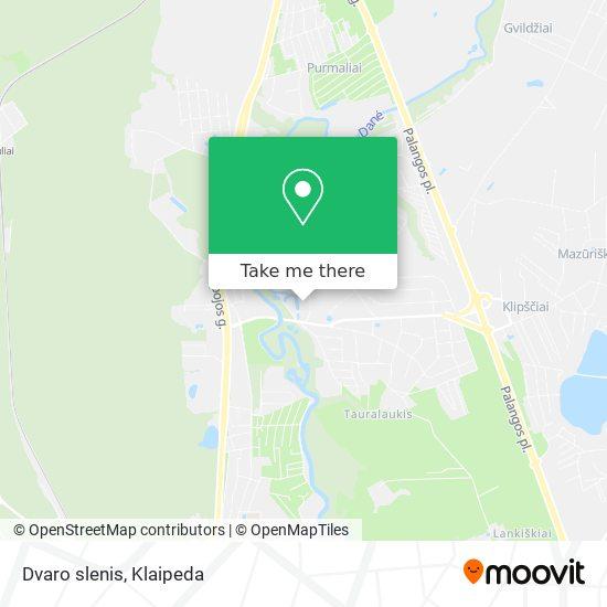 Dvaro slenis map
