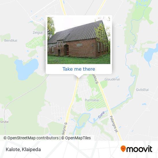 Kalote map