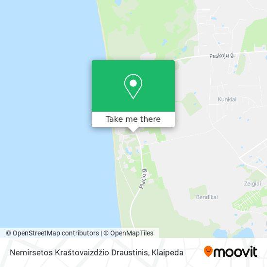 Nemirsetos Kraštovaizdžio Draustinis map