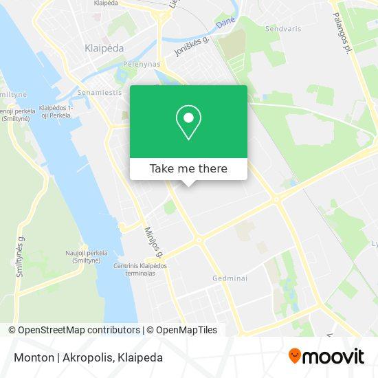 Monton | Akropolis map