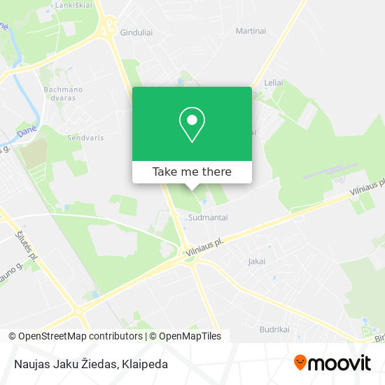 Naujas Jaku Žiedas map