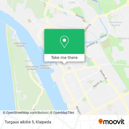 Turgaus aikštė 5 map