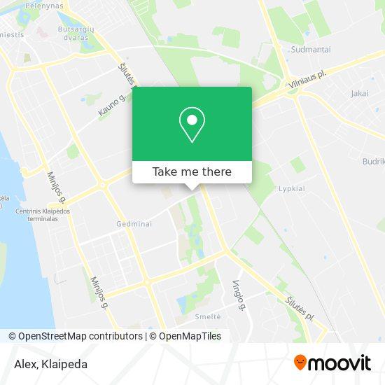 Alex map