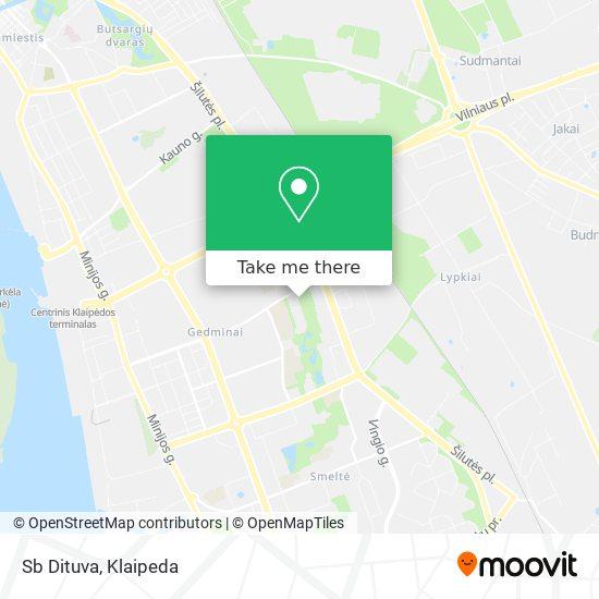 Sb Dituva map