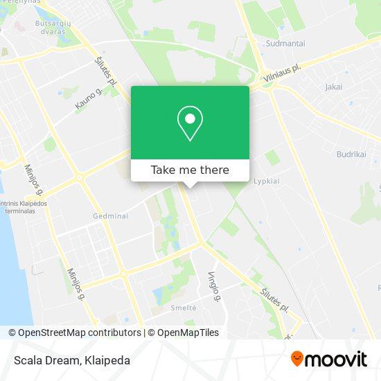 Scala Dream map