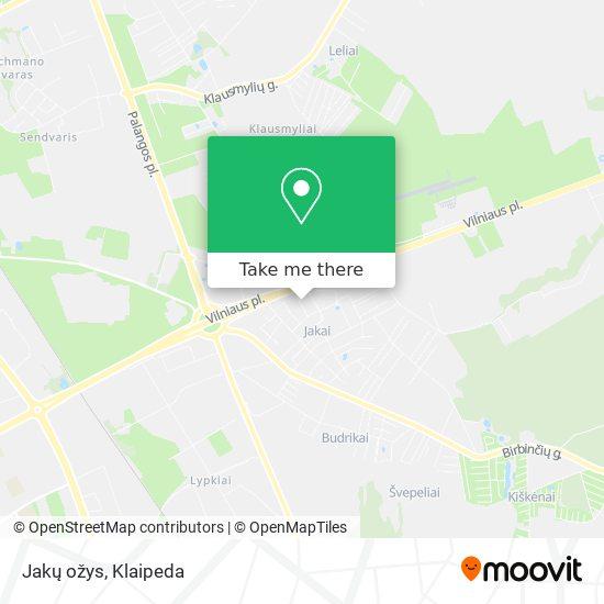 Jakų ožys map