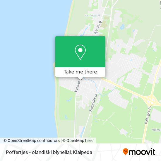 Poffertjes - olandiški blyneliai map