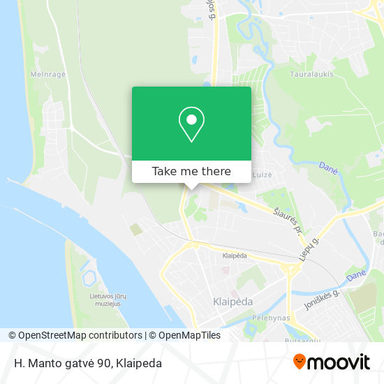 H. Manto gatvė 90 map