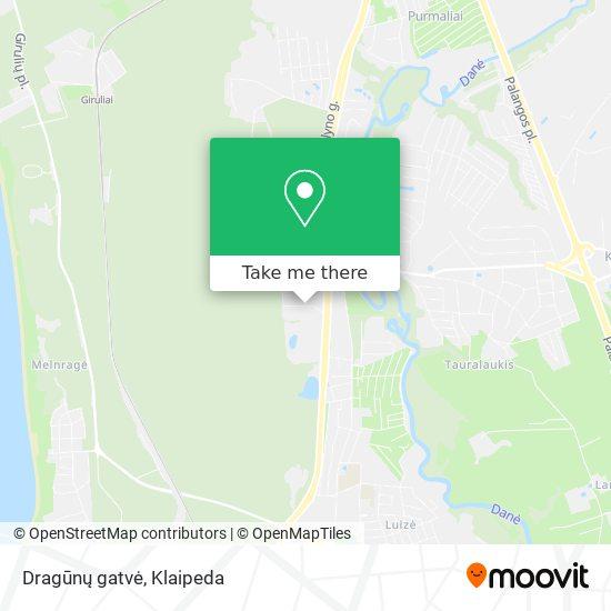Dragūnų gatvė map
