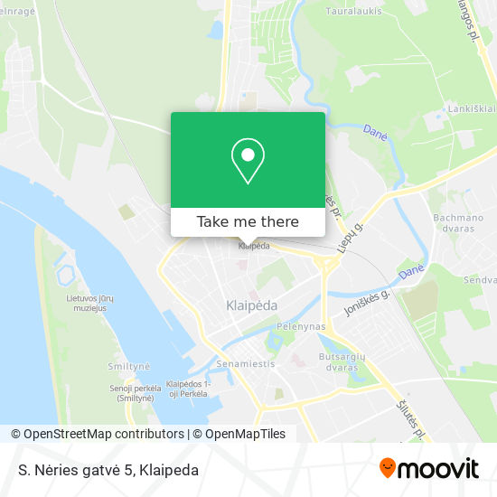 S. Nėries gatvė 5 map