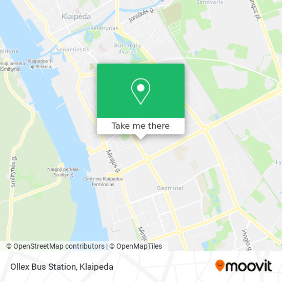 Ollex Bus Station map