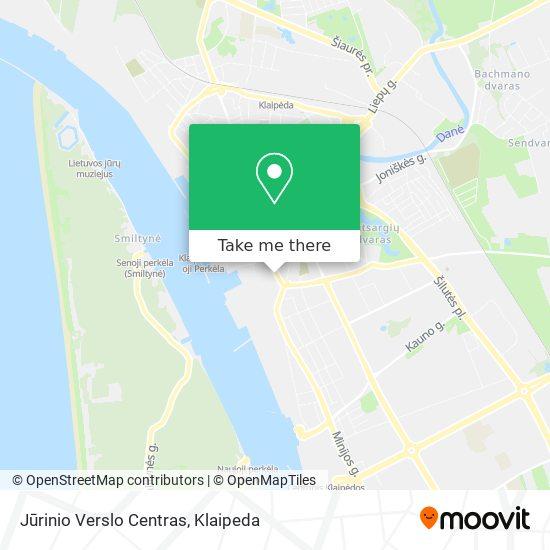 Jūrinio Verslo Centras map