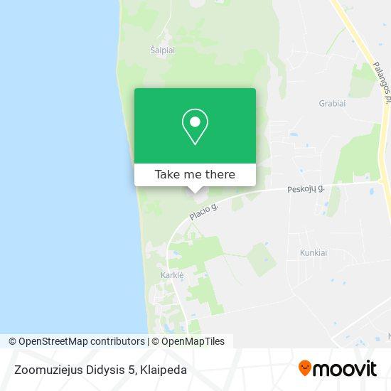 Zoomuziejus Didysis 5 map