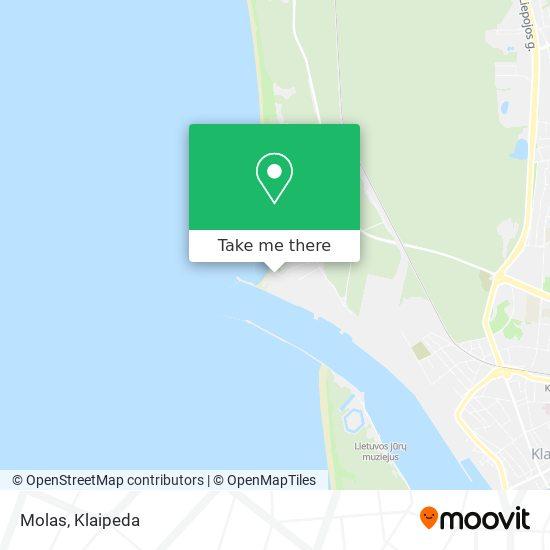 Molas map