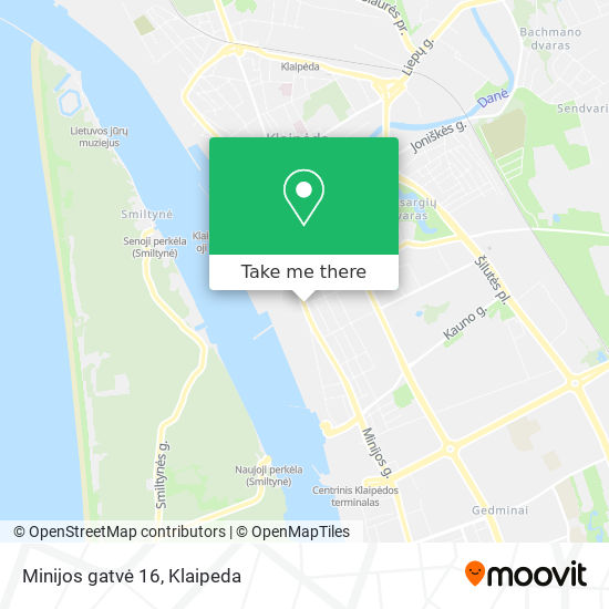 Minijos gatvė 16 map