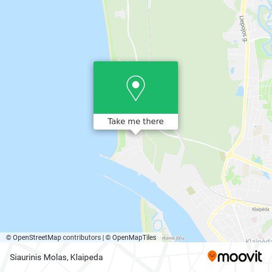 Siaurinis Molas map