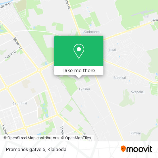 Pramonės gatvė 6 map