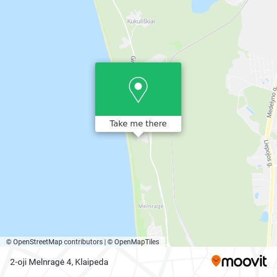 2-oji Melnragė 4 map