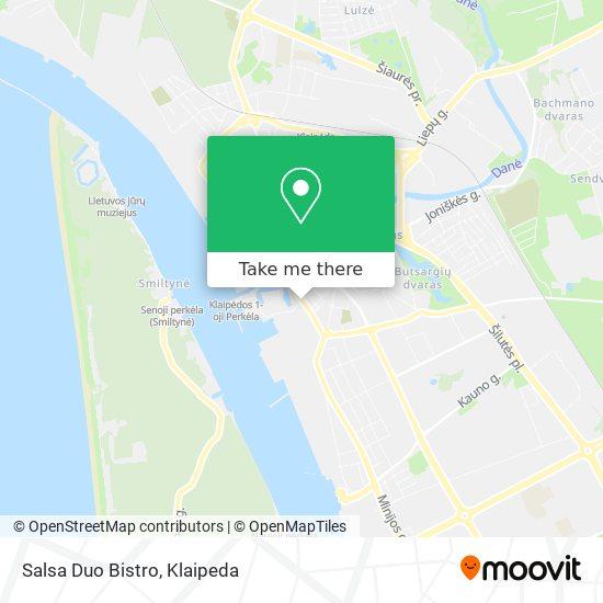 Salsa Duo Bistro map