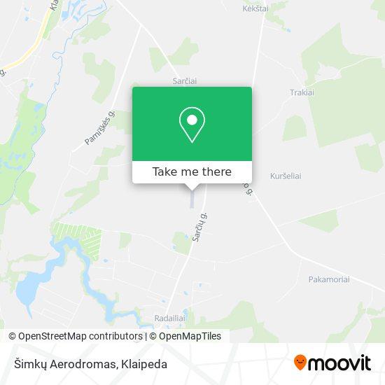 Šimkų Aerodromas map