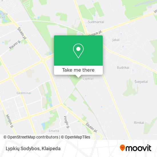 Lypkių Sodybos map