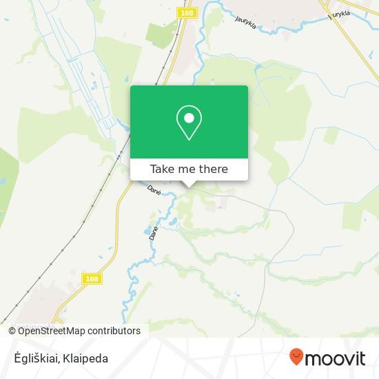 Карта Ėgliškiai