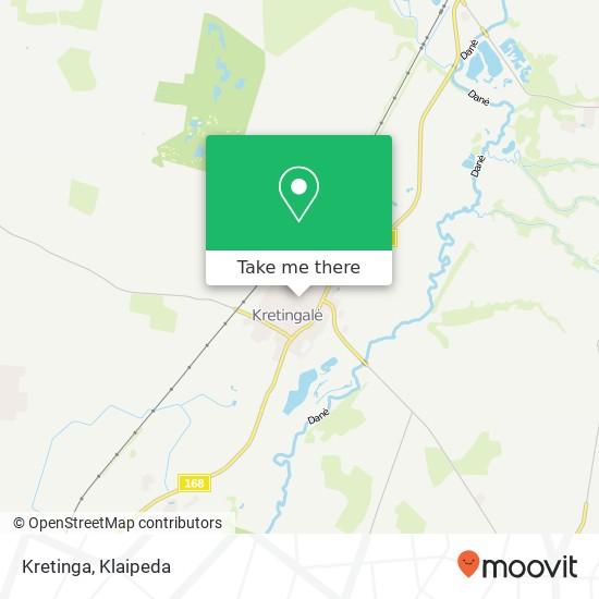 Карта Kretinga