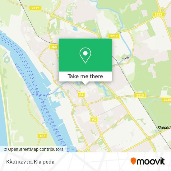 Κλαϊπέντα map
