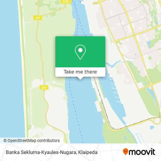 Banka Sekluma-Kyaules-Nugara map