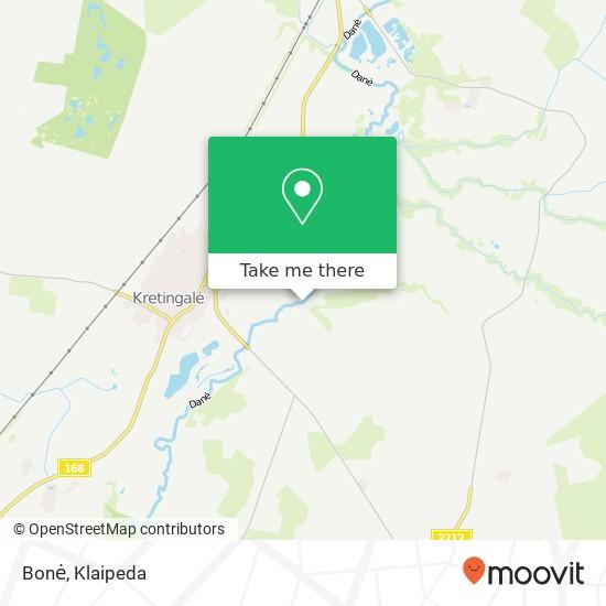 Карта Bonė