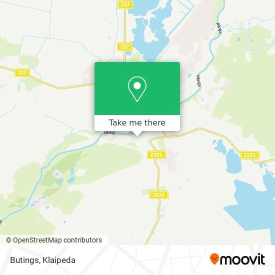 Butings map