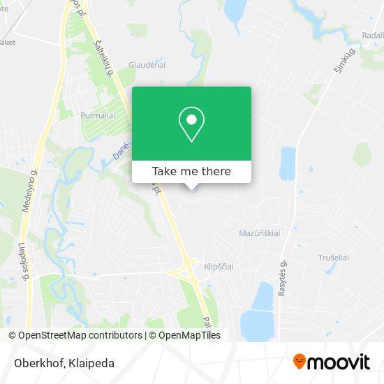 Oberkhof map
