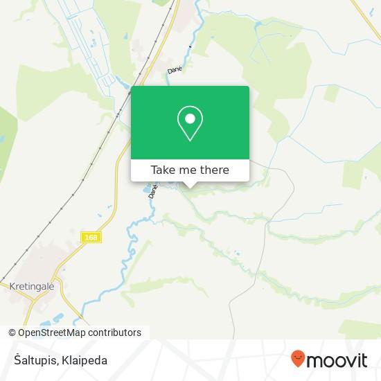 Карта Šaltupis